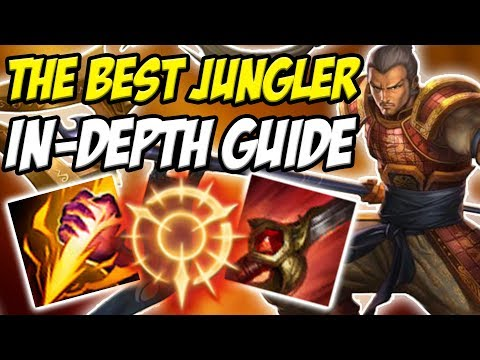 GUIDE ON HOW TO PLAY XIN ZHAO JUNGLE IN SEASON 8! THE BEST JUNGLER YOU CAN PLAY!