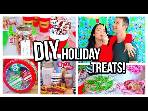 DIY Easy Healthy Holiday Treats! Inspired By Pinterest!