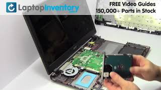 Acer Hard Drive Installation Replacement Guide Replace Install Laptop Aspire ES1 E5 F5 V3 P257