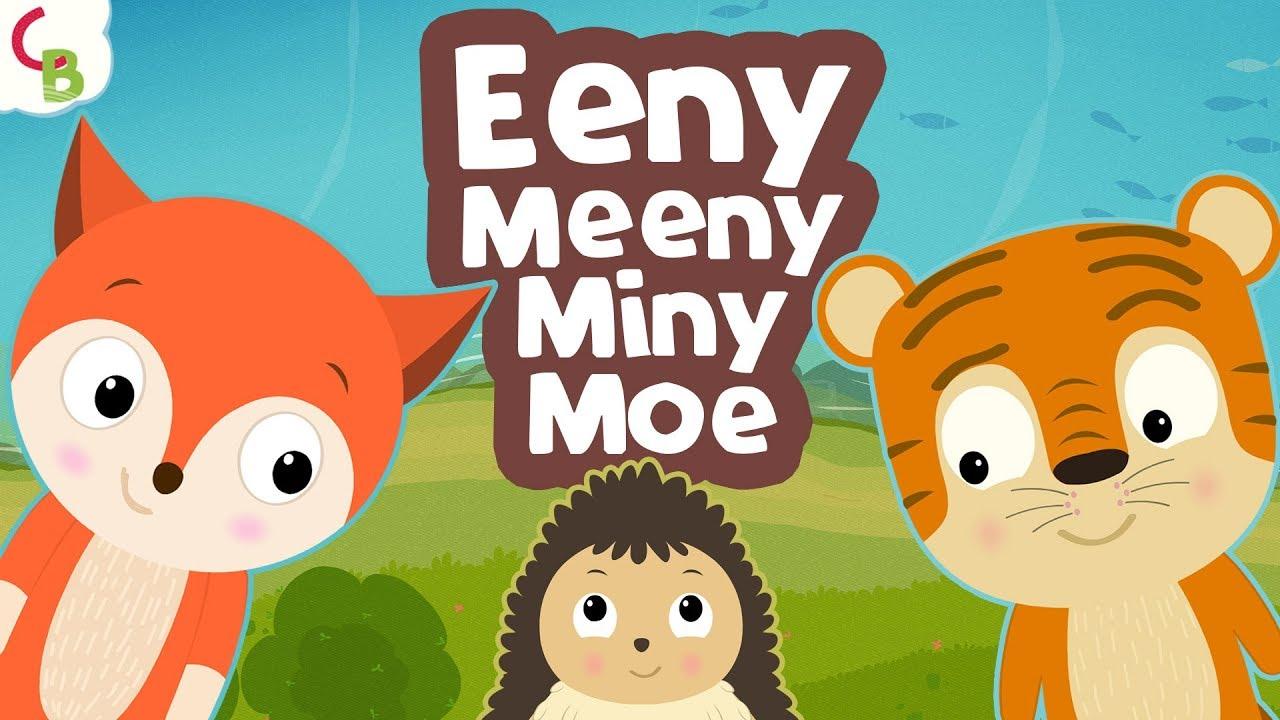 Eeny Meeny Miny Moe Nursery Rhyme Songs For Kids Children Rhymes