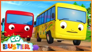 10 Little Buses - Part 2 | Little Baby Bus | Nursery Rhymes |  ABCs and 123s | Buses For Kids