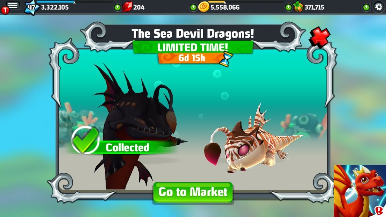 Dragonvale World: Ep  3 How to breed Sea Devil dragon!