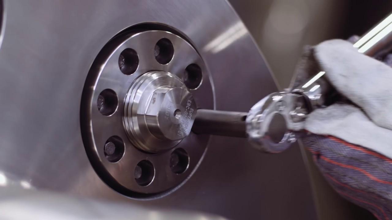 The Solution for Large Flange Couplings - Superbolt Expansion Bolts