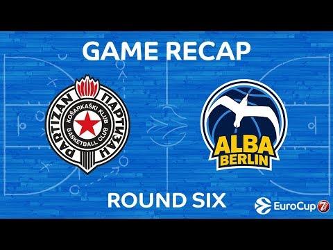 Highlights: Partizan Nis Belgrade - Alba Berlin