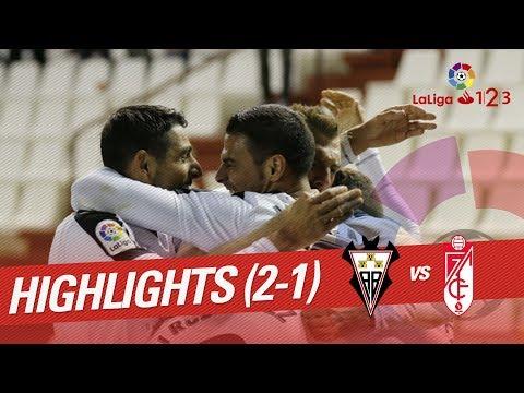 Resumen de Albacete Balompié vs Granada CF (2-1)