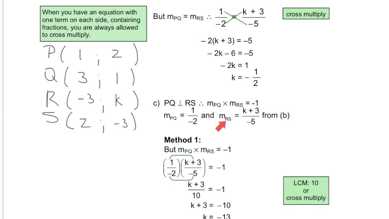 Grade 12 Mathematics - Analytical Geometry Revision 1 (Module 2 ...