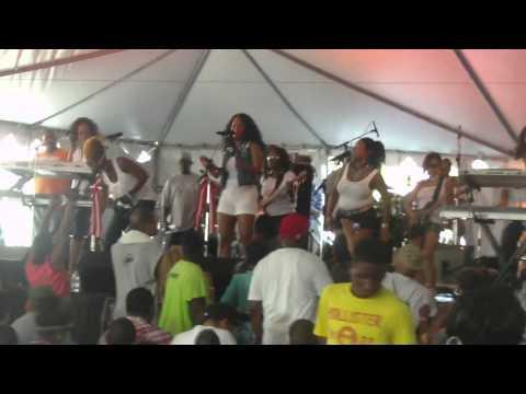 Be'la Dona Band  Live @ Bar B Q Battle 2012  Part 1