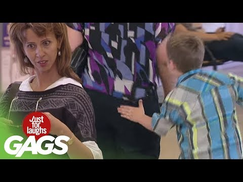 Rude Kid Womanizer Prank! - Just For Laughs Gags