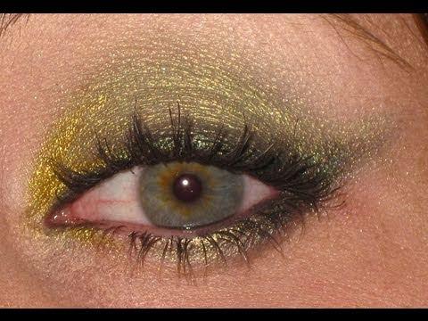 Makeup tutorial trucco Verde oliva/militare per BIONDA