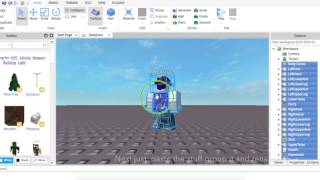 How to make a Custom r15 ROBLOX model! | ROBLOX studio with Nel Nel #1