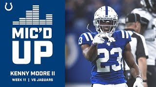 Kenny Moore Mic'd Up vs The Jaguars