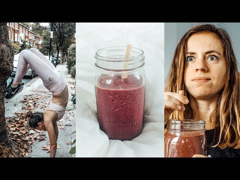 What a Yoga Teacher eats in a day to stay Strong and Healthy / VEGAN High Raw Recipes / Silke Dewulf