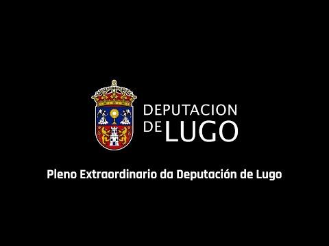 Sigue aquí el pleno extraordinario de la Diputación de Lugo