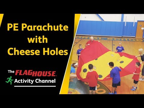 PE Parachute with Cheese Holes!? (Ep. 60 Swiss Cheese Parachute)