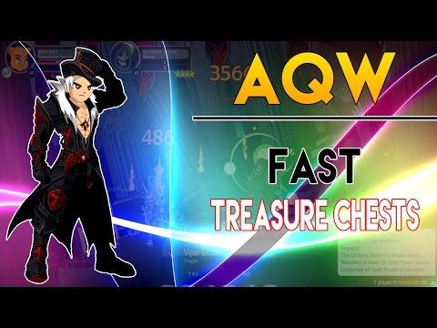 AQW FAST Treasure Chests [Two Methods]