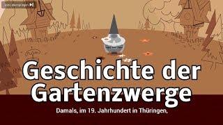 Geschichte der Gartenzwerge - 10. und 11. Juni 2018 - History of garden gnomes (Google Doodle)