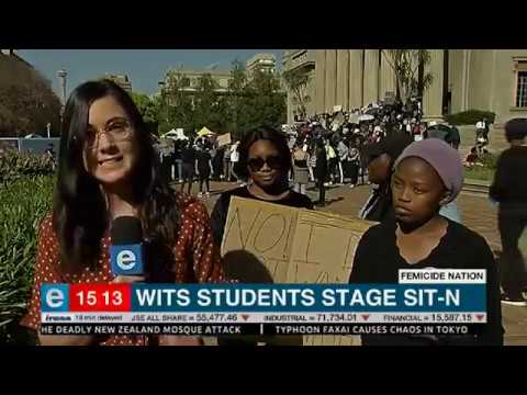 Wits studente sit sit-in - eNCA