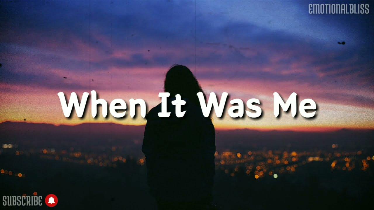 Download When It Was Me || Paula DeAnda (Lyrics)
