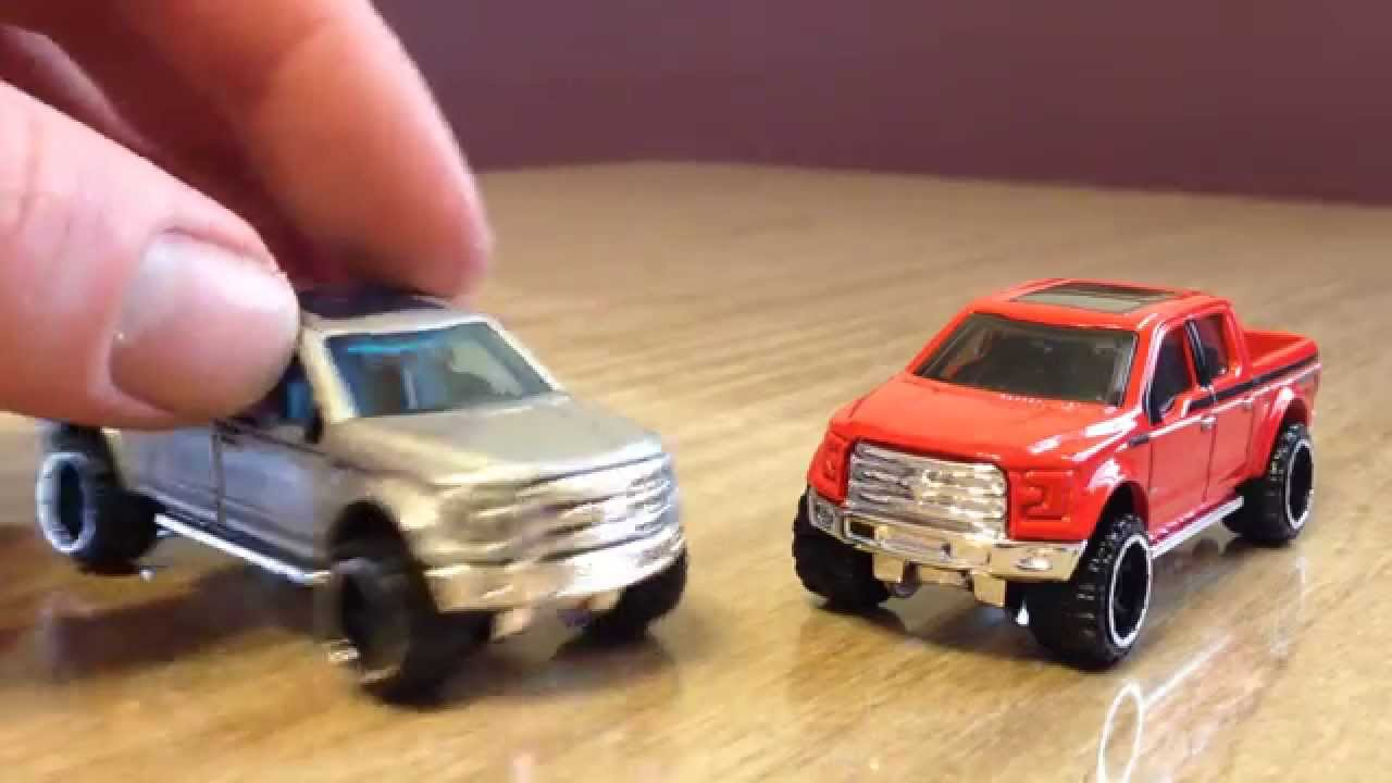 Hot Wheels 2015 Recolor Update 15 Ford F 150 Youtube