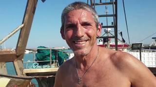 Pescherecci in mare per la Sagra del pesce