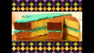 Marijuana Shaped Cake