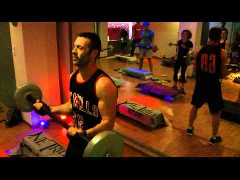 Body combat class celebrity fitness indonesia