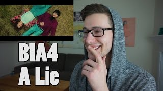 B1A4 _ A lie(거짓말이야) MV Reaction