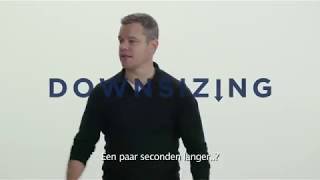Downsizing - 19 januari in voorpremière