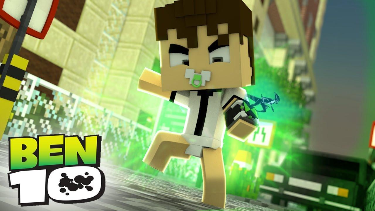 b6e53ba1d29 Minecraft  WHO S YOUR FAMILY  - O BEBÊ BEN 10 TRANSFORMOU EM XLR8 ...