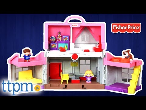 Little People Big Helpers Home Interactive Playset Review | Fisher-Price Toys
