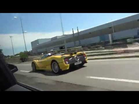 Drive it Like You Stole it: The Craziest Pagani C12S Ever