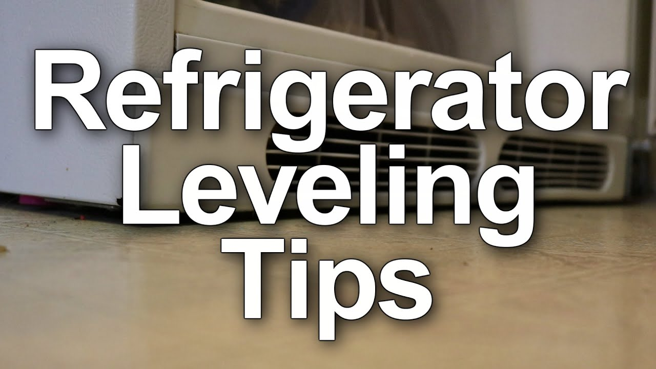 How To Adjust Refrigerator Doors So They Close Properly Youtube