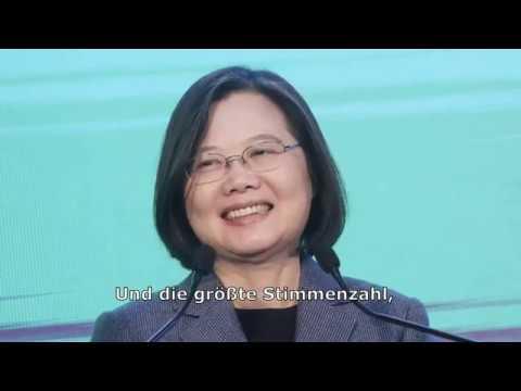 Historischer Wahlsieg für Tsai Ing-wen