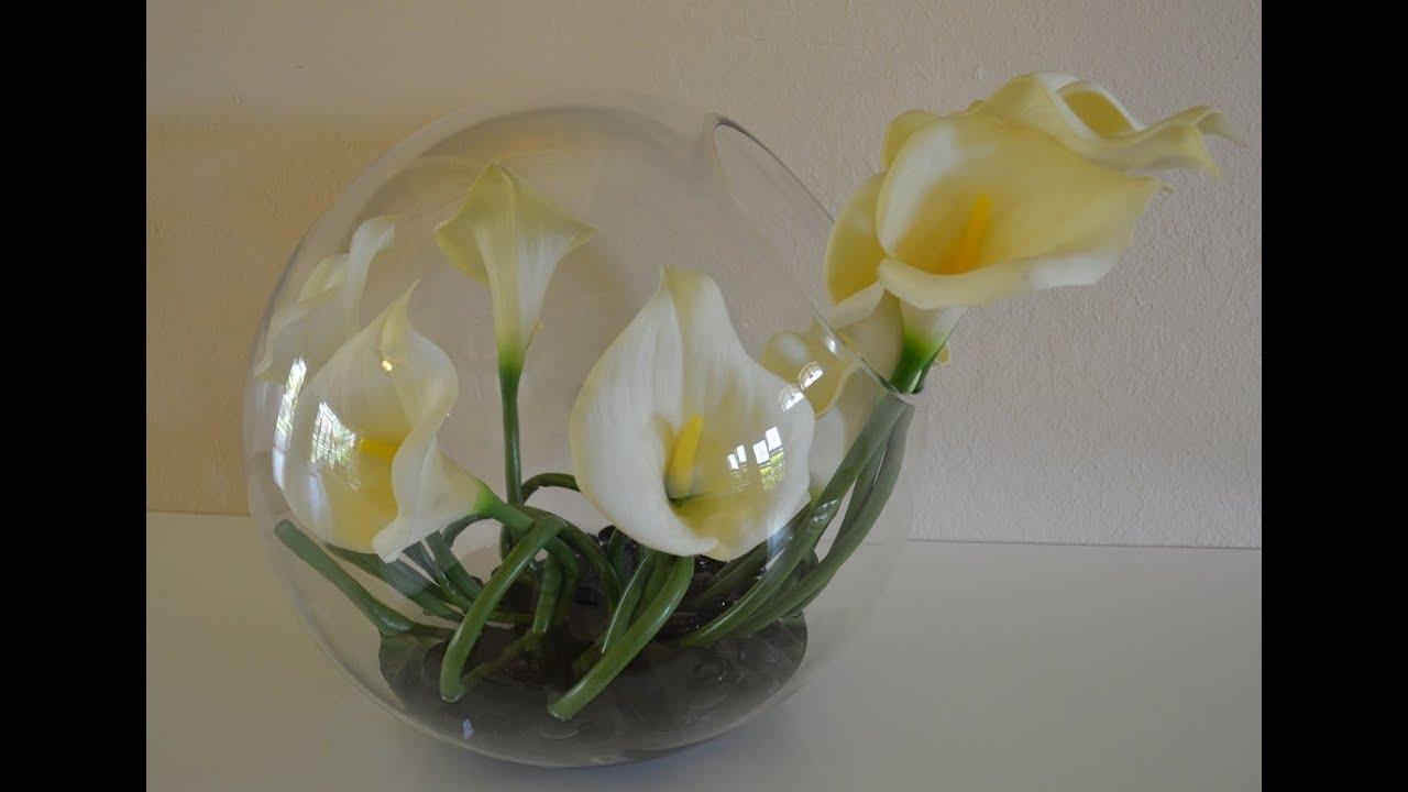 Diy centro de mesa moderno con flores youtube - Centros de mesa modernos para casa ...