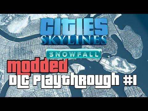 Cities Skylines Snowfall DLC Modded 1 |