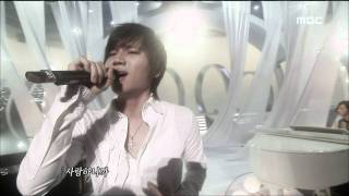 K.will - Dropping the Tears, 케이윌 - 눈물이 뚝뚝, Music Core 20090404
