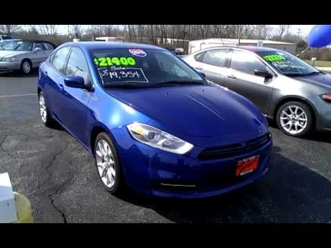 2013 dodge dart sxt sedan blue for sale dayton troy. Black Bedroom Furniture Sets. Home Design Ideas