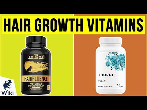 10 Best Hair Growth Vitamins 2020