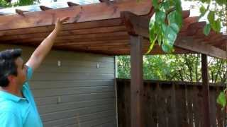 Backyard Makeover Pergola Or Arbor Diy