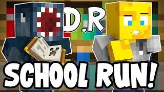 Minecraft - Death Run - SCHOOL RUN! W/AshDubh