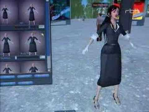 Second Life TV Report II- Interview Aram Bartholl