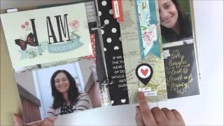 Erstellen Sie Heute: Ich Bin Einfach Geschichten Scrapbooking Mini Album