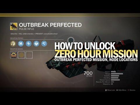 "How To Unlock Outbreak Perfected Mission ""Zero Hour"" [Destiny 2]"