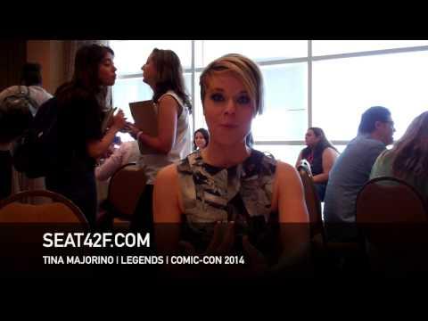 Tina Majorino LEGENDS  At San Diego Comic 2014