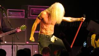 "Twisted Sister  ""S.M.F."" live Starland Ballroom"
