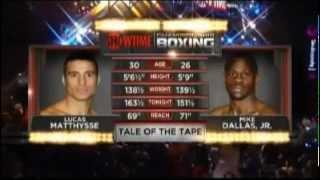 Lucas Matthysse vs Mike Dallas Jr (Full Fight )