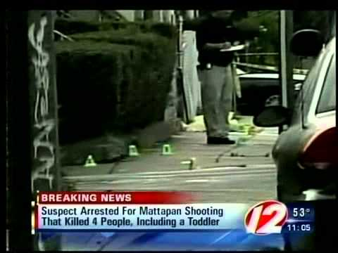 Boston man arrested and charged with Mattapan massacre