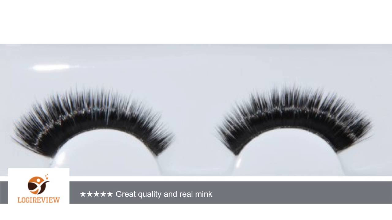 40155143d5a Alluring 100% Real Siberian Mink Individual Strip Lashes - choose style  (Cat-Eye Look) | Review/Test