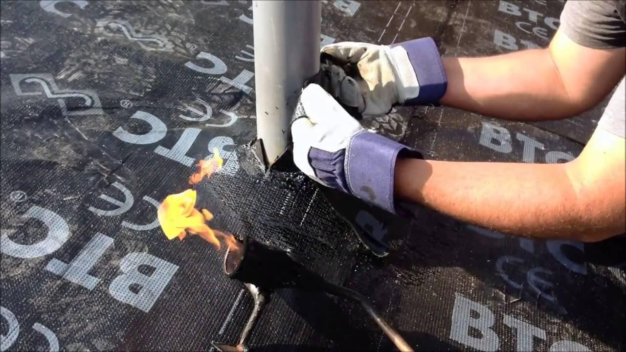 Impermeabilizacion cubierta youtube for Plastico para tejados