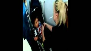 Chav parents neglect baby